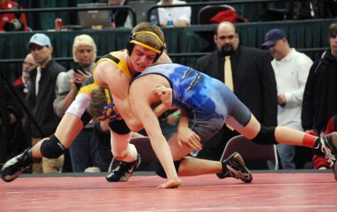 Alex Dronzek Wins State Wrestling Championship