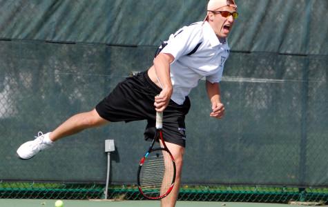 Goldberg and Bortz Compete at State Tennis Tournament
