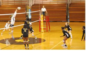 Volleyball Team Raises Money, Spirits