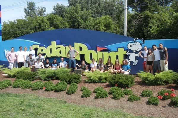 Marketing Class Develops Campaign for Cedar Point