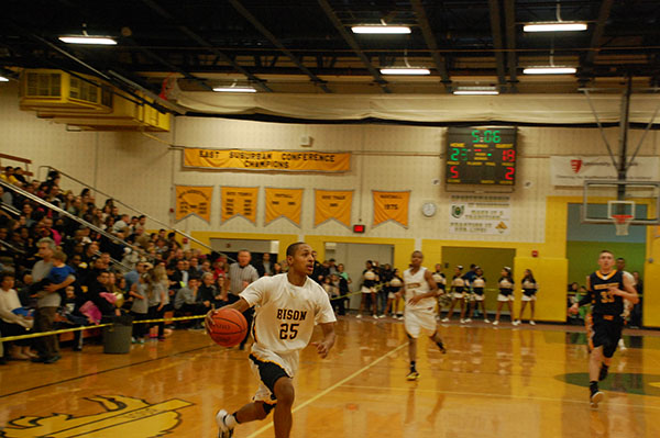 Bison Boys Basketball Enters District Tournament as Top Seed