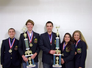 Excel TECC Marketing Students Place 1st and 2nd in DECA State Championship