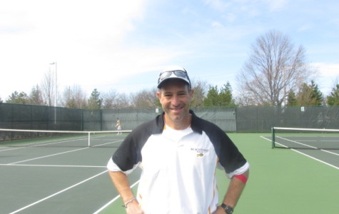 Tennis Team Faces Challenging Schedule; Pushes for Post Season