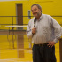 Summers spoke at the Thanksgiving assembly this fall.
