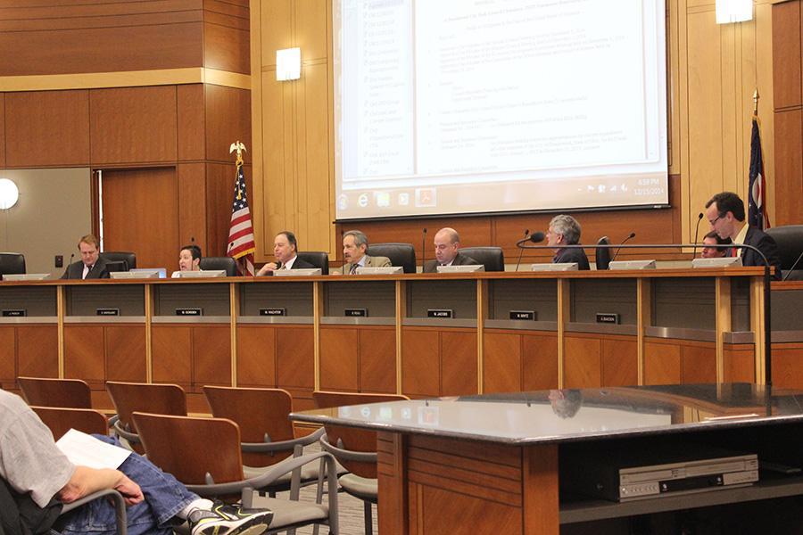 The Beachwood City Council meeting on Dec. 15, 2014.