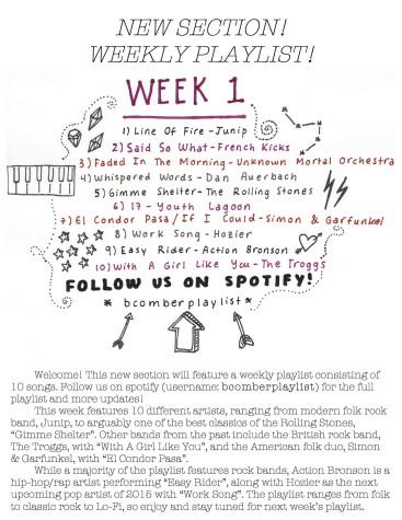 week1playlist