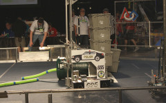 "Robotics Team Builds ""Robocop,"" Wins Third Straight Imagery Award"