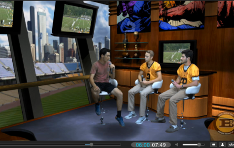 Stern and Marmaros Launch  Sports Show on Bison TV