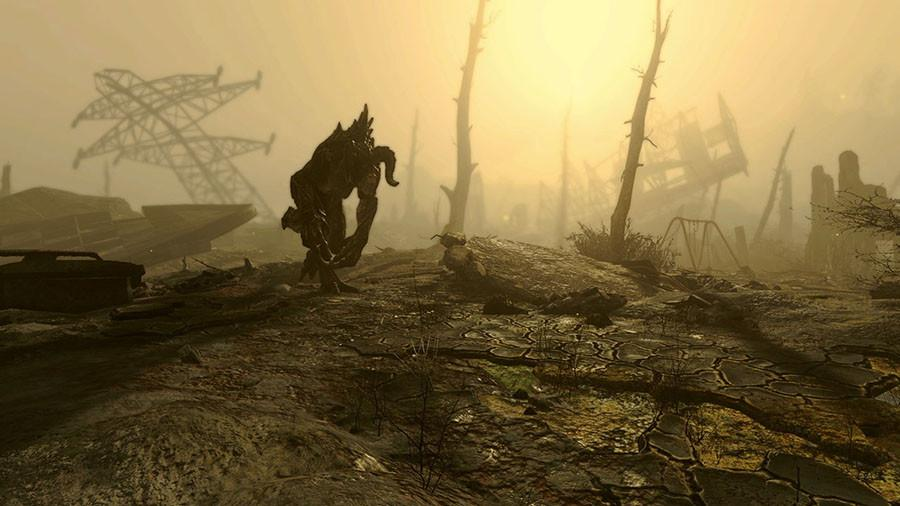 In the first 30 minutes, the player agrees to go into an underground nuclear shelter, is cryogenically frozen, then almost immediately fights a Deathclaw, pictured here. Image source: http://bethsoft.com.