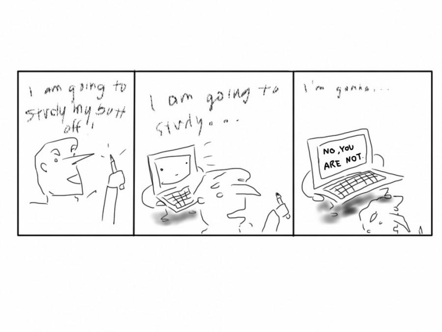 Cartoon by Raquel Wu