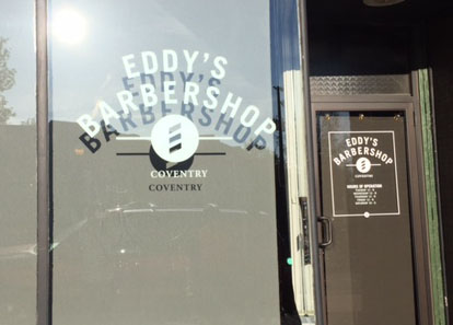 A Close Shave at Eddy's on Coventry