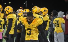Bison Football Finishes Season With Tough Loss to Orange