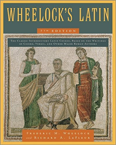 Wheelock's Latin is the online text for BHS Latin students.