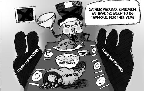 BHS Cartoonists on Trump's Election