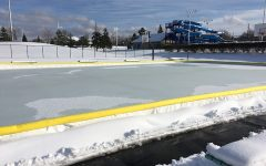 City Installs Ice Skating Rink