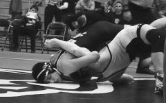 Bialosky Leads Wrestling Team at CVC Tournament