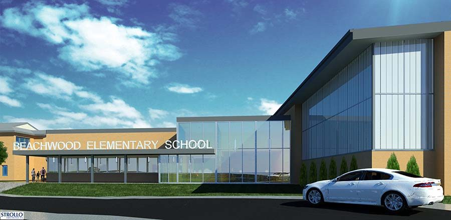 According to school district officials, the board  will wait until at least 2020 to put the elementary consolidation bond on the ballot again, taking into account community feedback.  Image by Strollo architects