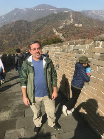 Gugick at the Great Wall of China