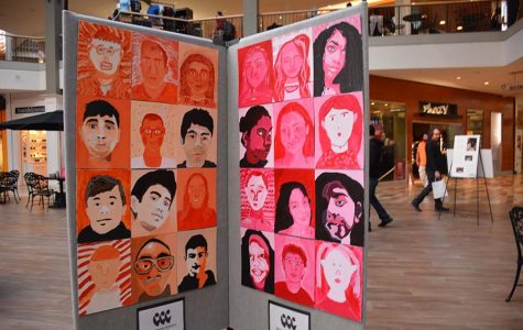 Student Self-Portraits Displayed at Beachwood Place
