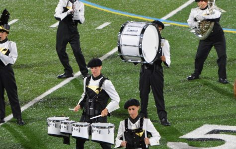 Band and Drill Team to Perform Senior Show at Orange Game
