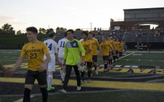 Boys Soccer Celebrates Senior Night With 7-1 Win Over Fuchs
