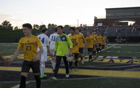 Boys Soccer Celebrates Senior Night With 7-1 Win Over Fuchs