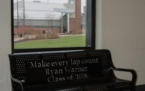 Class of 2018 Donates Benches in Honor of Ryan Warner