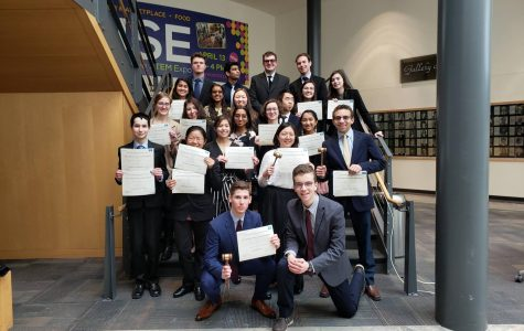 Model UN Wins Best Large Delegation at Winter and Spring Conferences