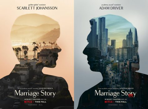 "The official movie poster for ""Marriage Story,"" which came to Netflix US on Dec. 6."