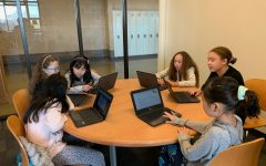 BHS Library Hosts Elementary and Middle School Students for 'Hour of Code'
