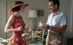Midge Maisel (Rachel Brosnahan) and her father Abe Weissman (Tony Shalhoub)