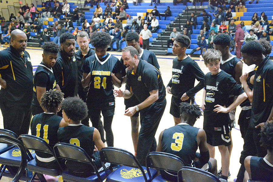 Boys Basketball Team Looking Forward to Playing After Delayed Season