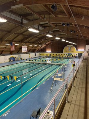 Swim Team Faces Deteriorating Conditions in Pool