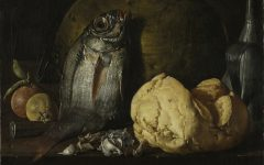 Still Life With Fish, Bread and Kettle / Luis Menendez / c. 1772 / Cleveland Museum of Art / Open Access
