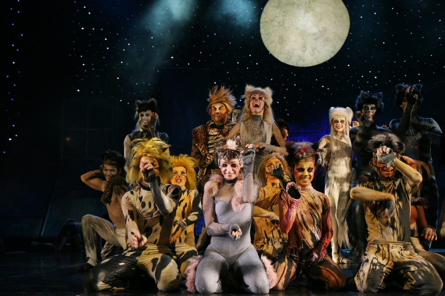 "The musical ""Cats"" in Roma Musical Theatre in Warsaw, 8 December 2007."