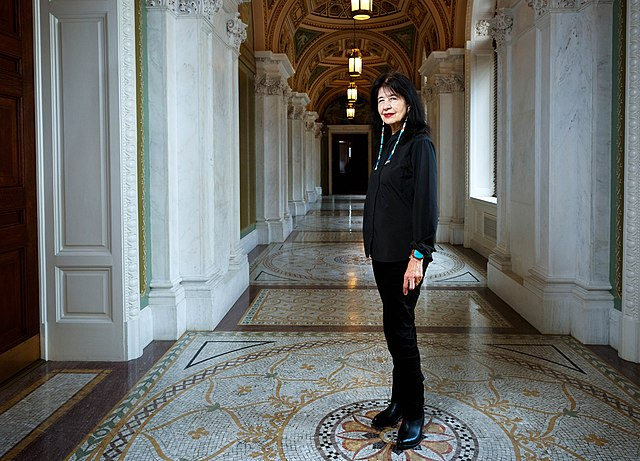 Joy+Harjo+is+the+first+Native+American+Poet+Laureate+of+the+United+States.+