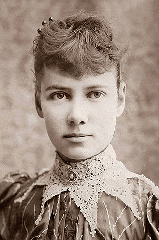 In the 1880s, Nellie Bly pretended to be mentally ill in order to report undercover on the appalling conditions in the insane asylum on Blackwell's Island.  The New York World published her six-part series, a pioneering work of investigative journalism.